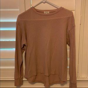 pink pst sweater